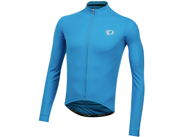 PEARL iZUMi Select Pursuit Long Sleeve Jersey Men atomic blue/mid navy diffuse